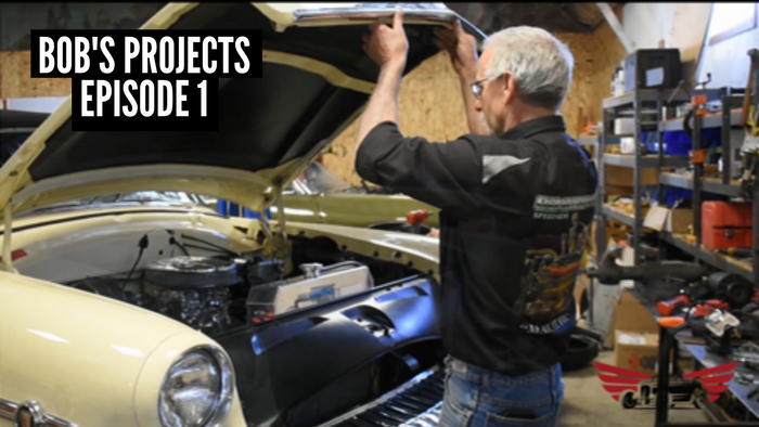 Bob's Projects Episode 1: '41 Buick, '54 Merc Convertable, '68 GTO, REO Speedwagon 2002 F450
