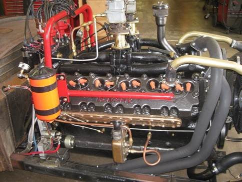 SE1000101 Seagrave V12 to Chevy V8