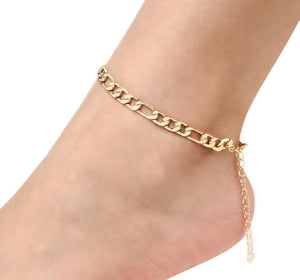 Chain link Anklet - Prince's Boutique