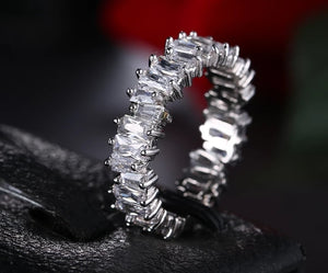 Jagged Edge Band Ring - Prince's Boutique
