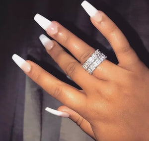 Sassy Girl Band Ring - Prince's Boutique