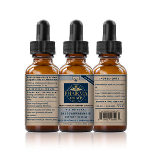 Pharma Hemp 1,100mg 30ml Holistic CBD Pet Tincture | Professional Veterinary Strength - PrimaHemp