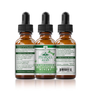 Pharma Hemp 120mg 30ml CBD Tincture | Relaxation Remedy for Pets - PrimaHemp