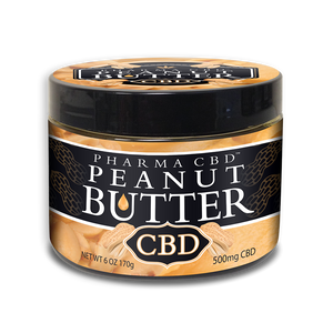 Pharma Hemp 500mg CBD Peanut Butter - PrimaHemp