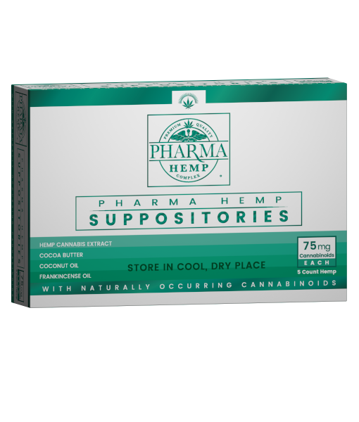 Pharma Hemp 75mg 5ct CBD Suppository - PrimaHemp