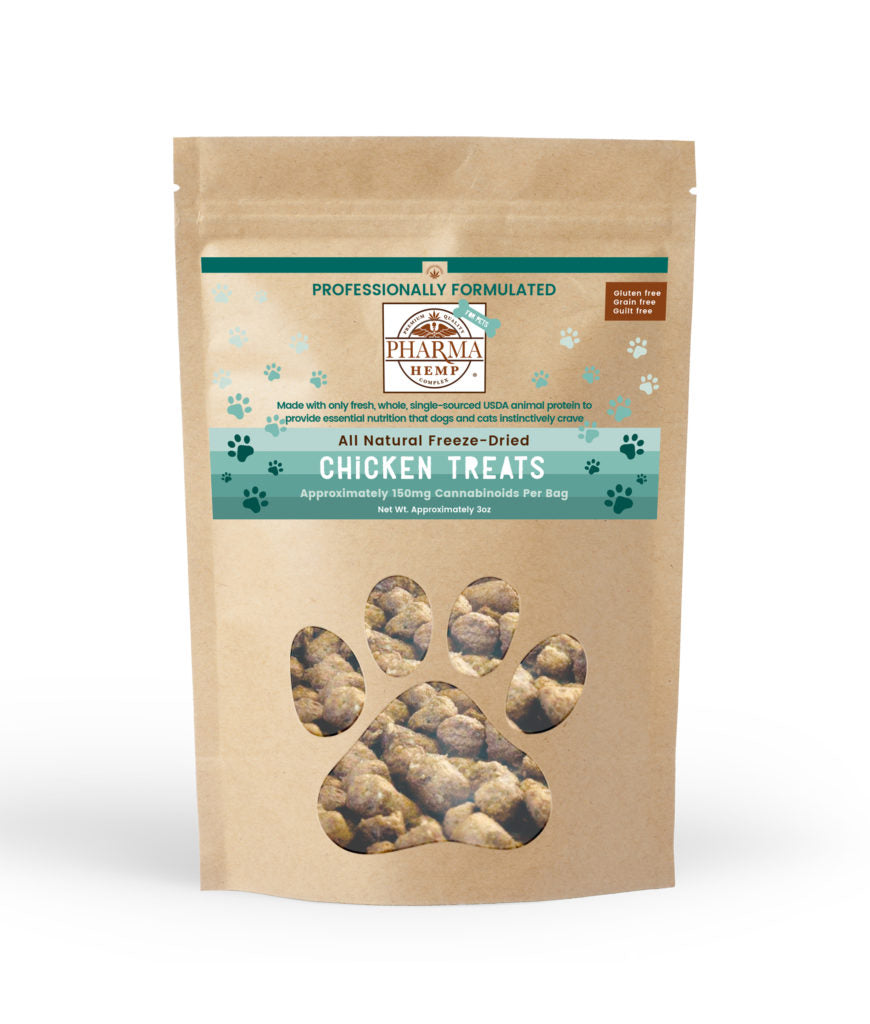 Pharma Hemp CBD Freeze-Dried Chicken Pet Treats - PrimaHemp