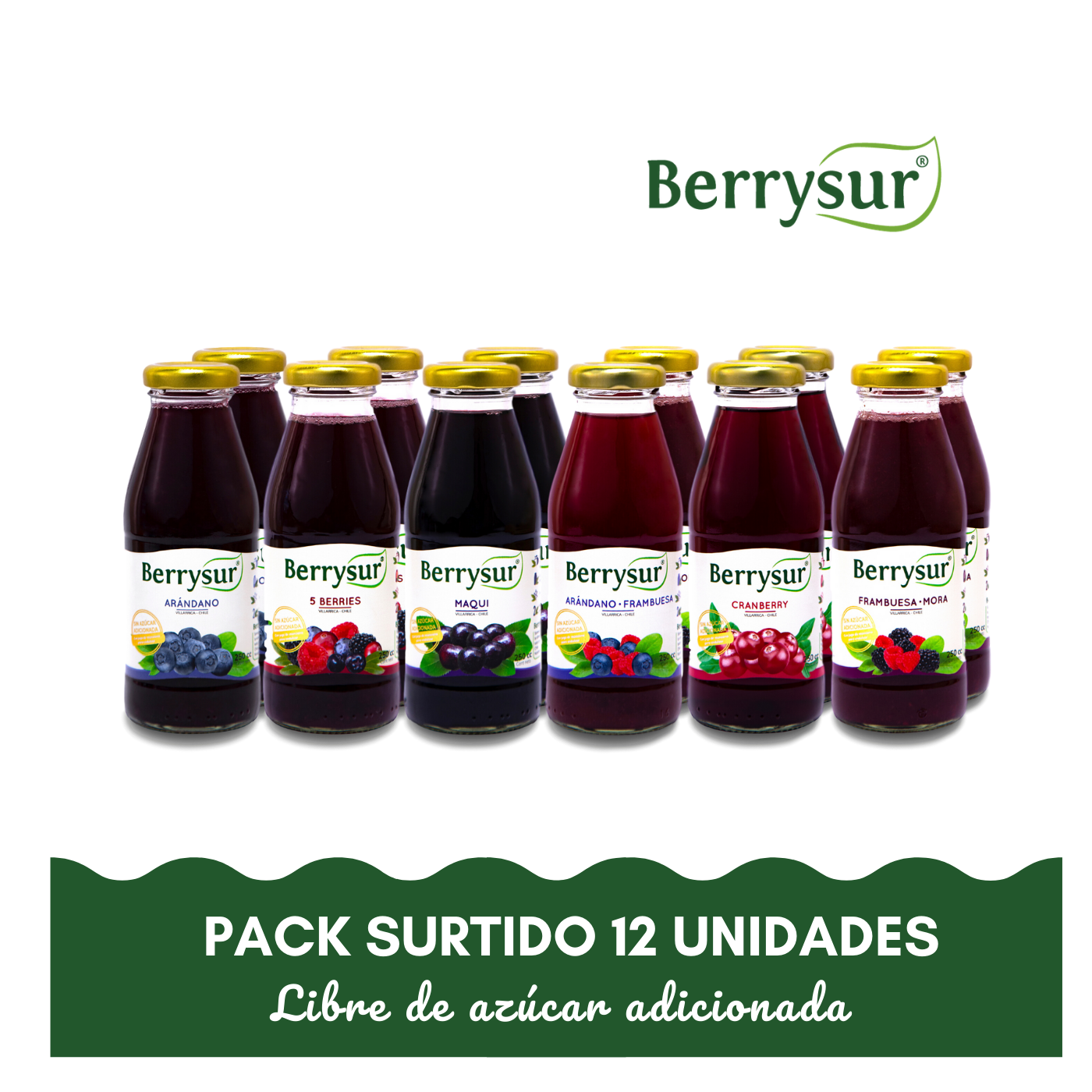 Voipir - Pack 12 unidades 250 ml.