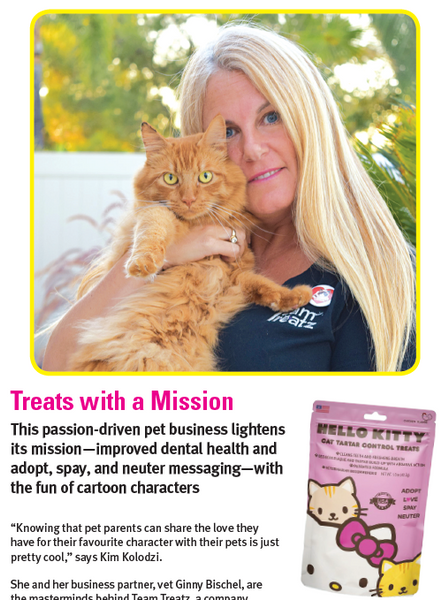 Team Treatz featured on Modern Cat Magazine!