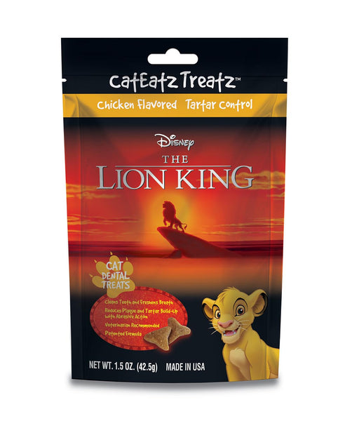 Team Treatz Releases Disney Lion King Cat Treats
