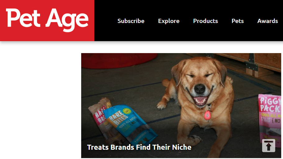 Team Treatz Featured on Pet Age!