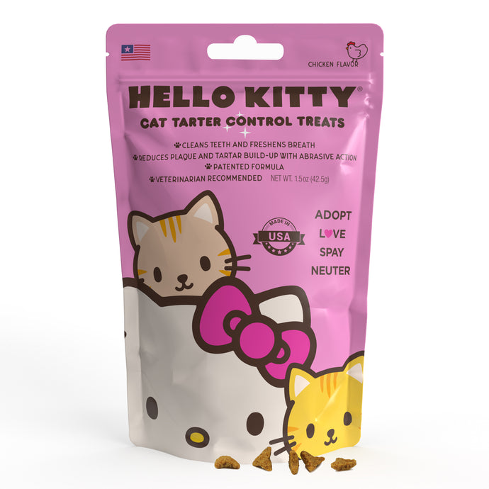 Hello Kitty Tartar Control Cat Treats