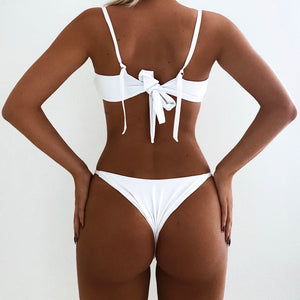 LULU BOTTOM IN WHITE