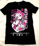 Nekomimi T-Shirt (Hot Pink)