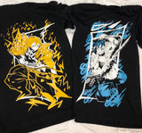 Demon Slayer Zenitsu and Inosuke  Tee