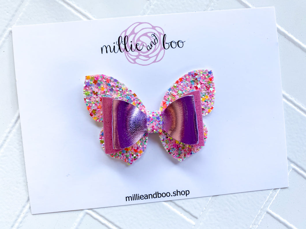 Butterfly Bow / Fairy Rainbow