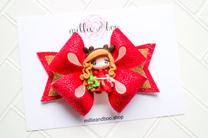 Deluxe Bow / Christmas Girl