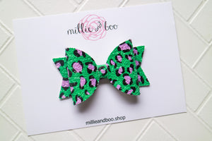 Macy Bow / Leopard Pop