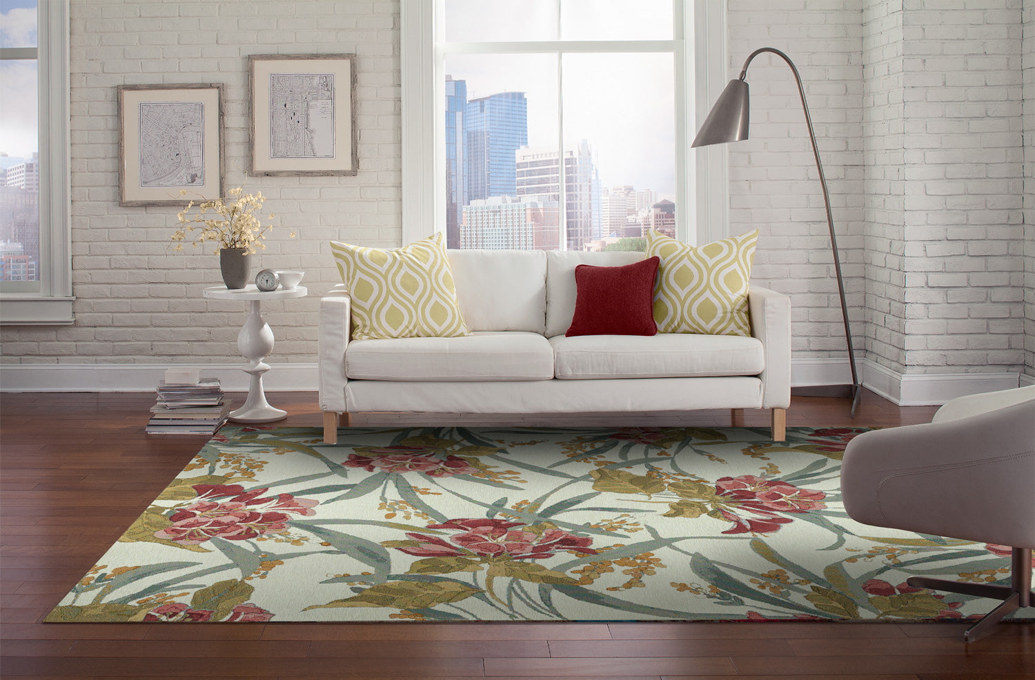 Floral Rugs 101 - Everything you need to know to make it Work!