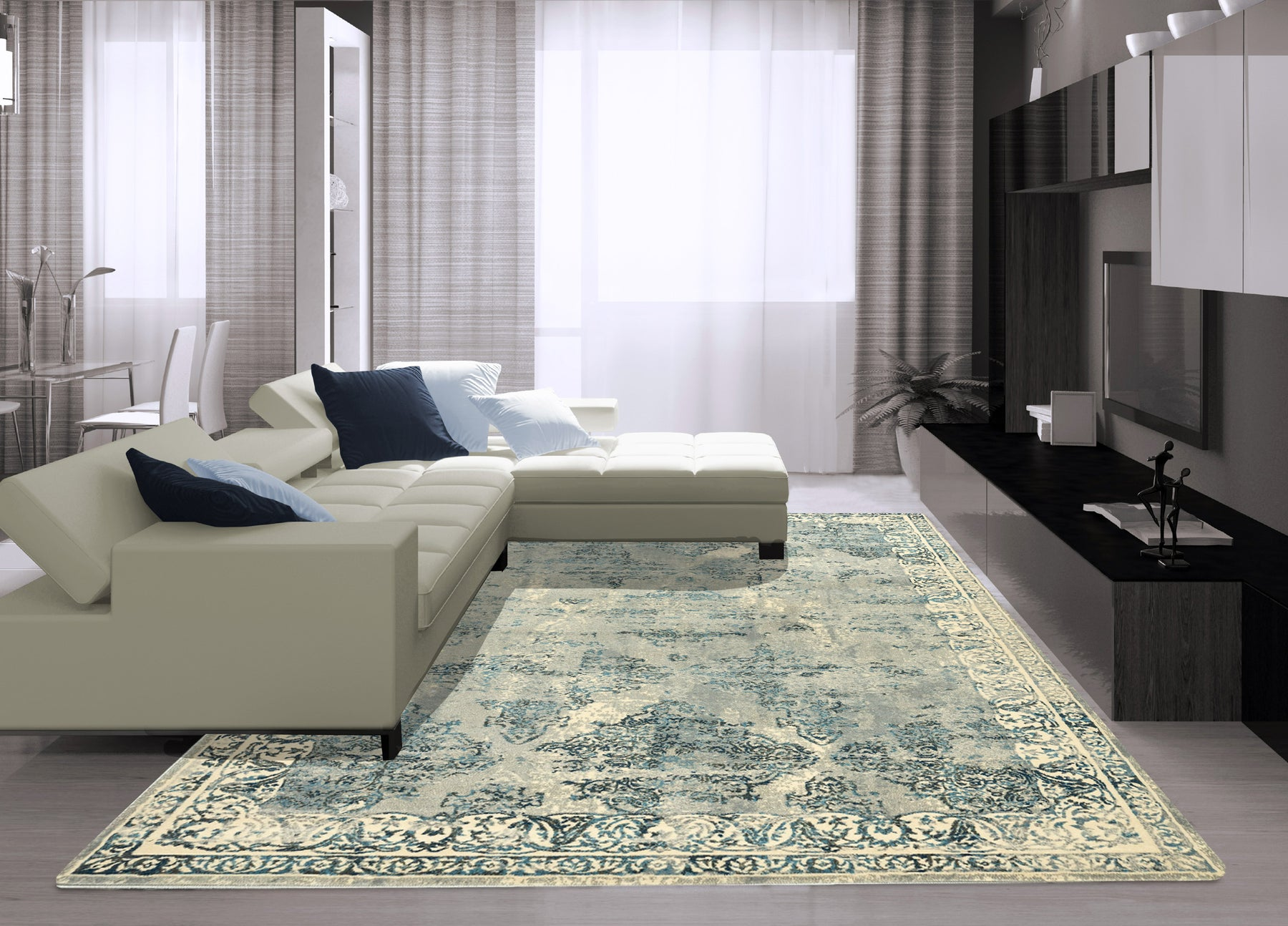 How to Make Neutral Rugs Work