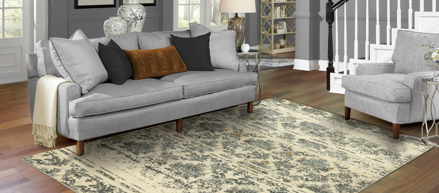 5 Reasons Why Gray Rugs are Trending