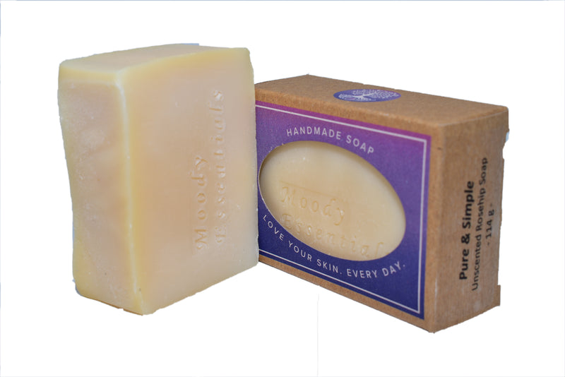 Pure & Simple Unscented Soap