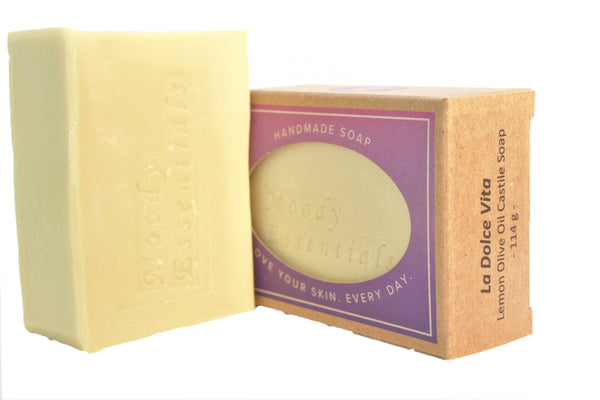 Olive Oil & Lemon Soap