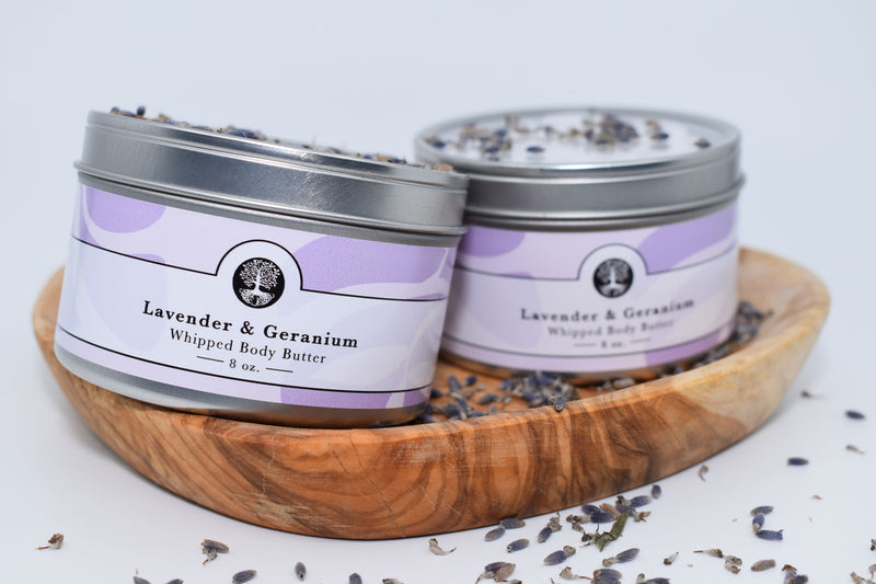 Lavender & Geranium Whipped Body Butter