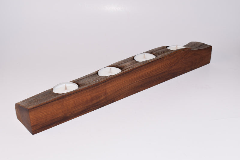 Cedar Tealight Holder WHTL004