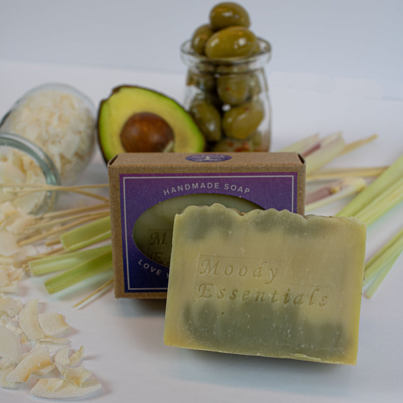 Lemongrass & Avocado Soap