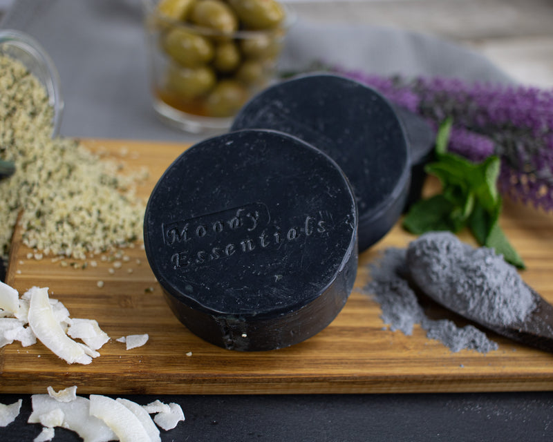 "Activated Charcoal ""Hockey Puck"" Soap"