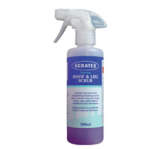 Keratex Hoof and Leg Scrub (€5/100ml) - Kaster Cheval