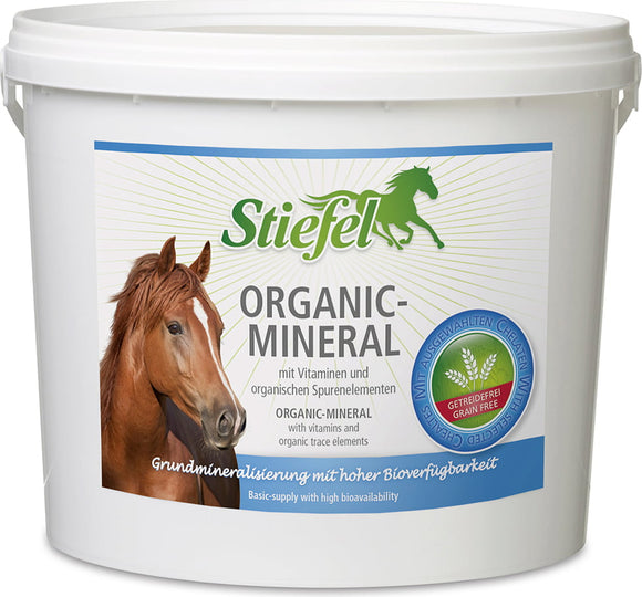 Organic Mineral 3kg - Kaster Cheval