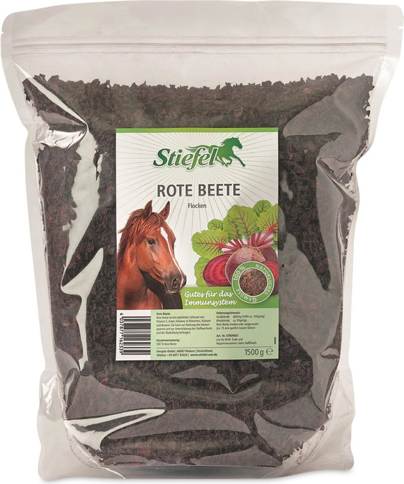 Rote Beete Flocken - Kaster Cheval