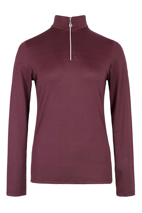 Harcour H/W 2020 Funktionsshirt ROSI  Burgundy