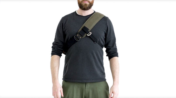 how to switch a wee lug shoulder strap