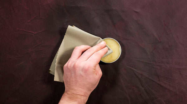 How To Reproof Waxed Canvas: Wet Finish