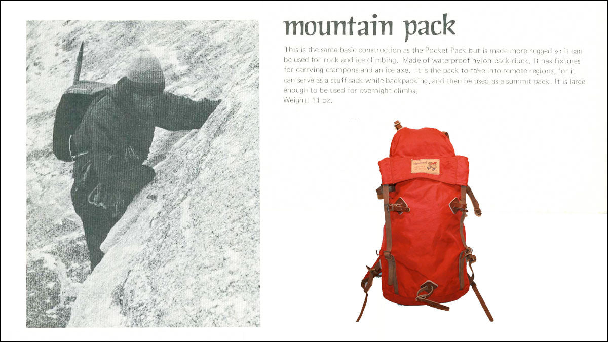 Chouinard Backpack
