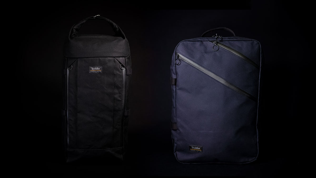 Trakke Waxed Canvas Travel Bags - Vorlich Expedition Pack and Storr Carry On Backpack