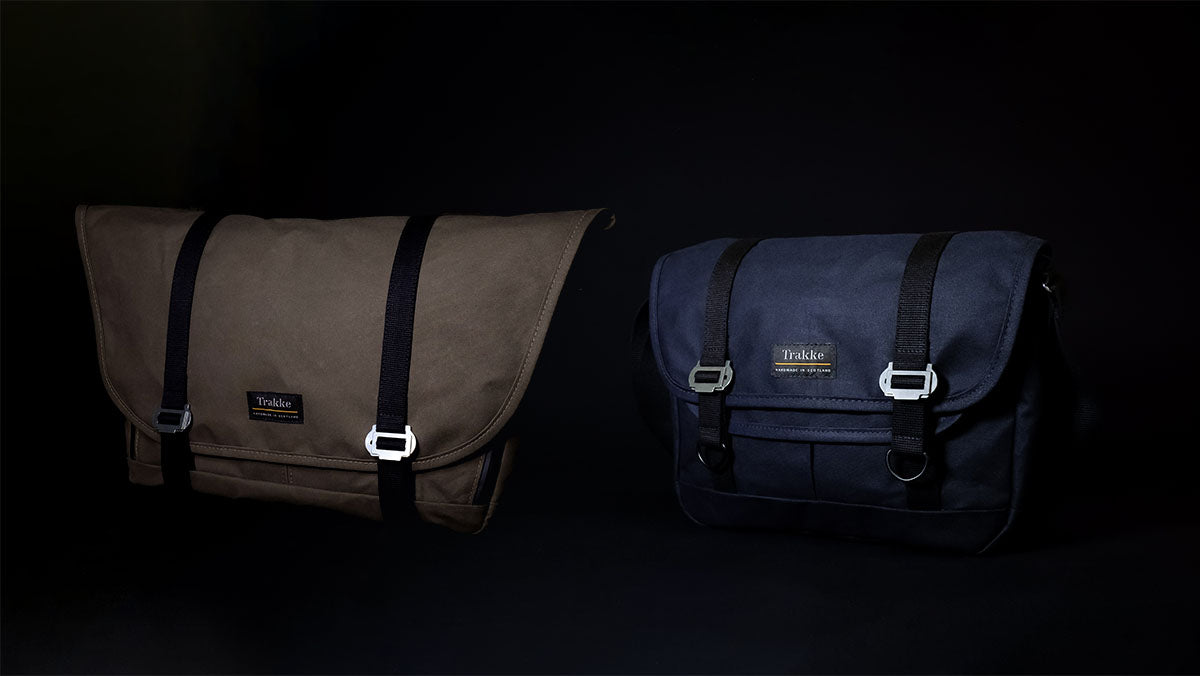 Trakke Waxed Canvas Messenger Bags - Wee Lug and Bairn Mini Messenger