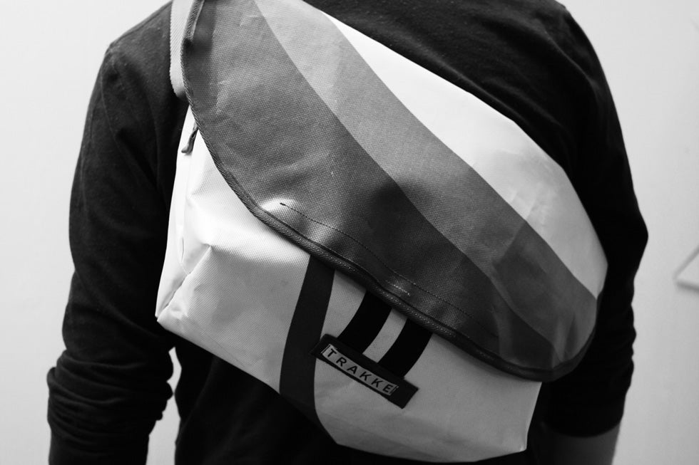 1st edition of the Wee Lug messenger cycling bag