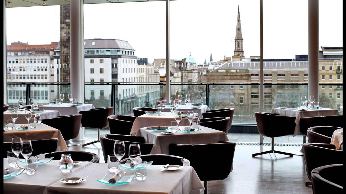 Harvey Nichols restaurant Edinburgh