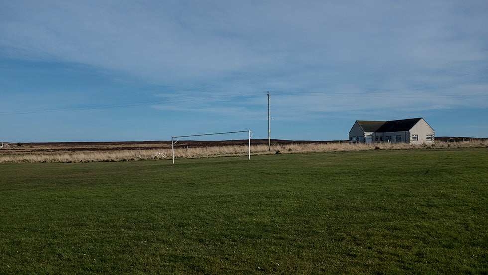 Brian Sweeney's photograph of John O Groats remote football pitch