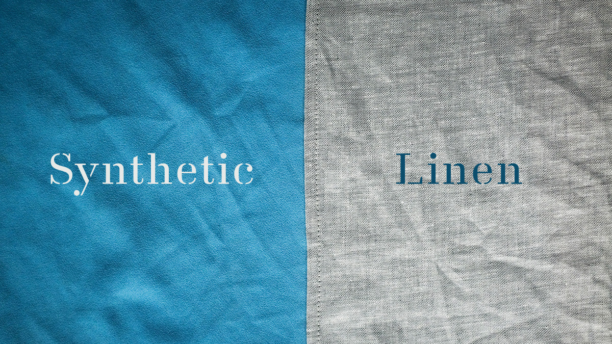 linen vs synthetic travel towel