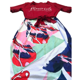 Flourish Elegant Dress - OJBClothingstore