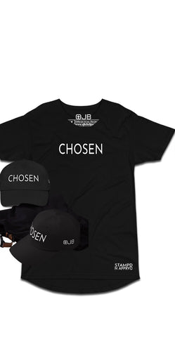 Chosen Stampd N Apprvd Christian T Shirt and Hat Bundle - OJBClothingstore