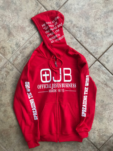 OJB Red Sweater - OJBClothingstore