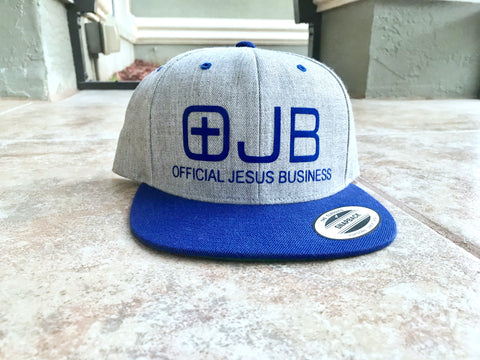 OJB SnapBack - Blue - OJBClothingstore