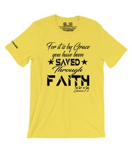 Load image into Gallery viewer, Saved by Grace Through Faith T Shirt - OJBClothingstore