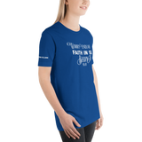 Worry End When Faith Begins T Shirt - OJBClothingstore