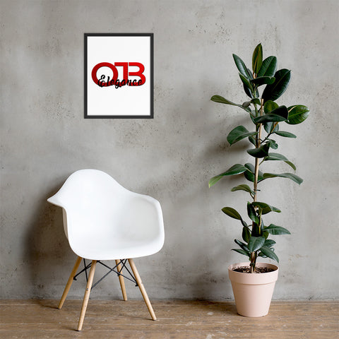 OJB Elegance Framed poster - OJBClothingstore